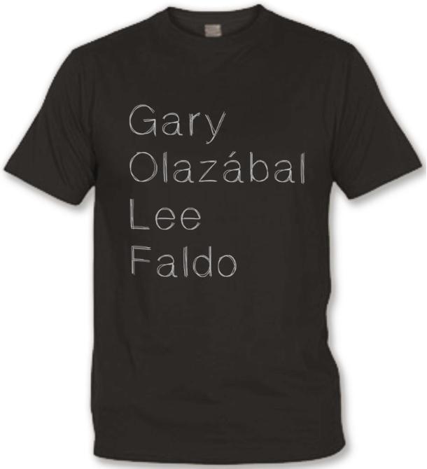 T-shirt Golf Légendes gris