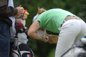 comment s'alimenter sur un parcours de golf